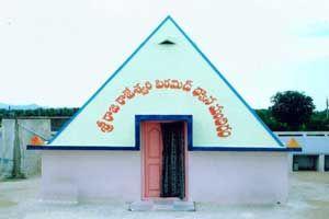 Sri Rajarajeswari Pyramid Meditation Center year of construction : 2011 size : 12ft x 12ft (roof top) | capacity : 25 persons cost incurred :  60,000 | type of structure : RCC timing : 24x7, open for public use technical support : P Narasimha contact : P Narasimha, mobile : +91 99129 08770 address : 6-1/5, Ramnagar Main road, Bhoodan, Pochampalli (mandal) http://www.pyramidseverywhere.org/pyramids-directory/telangana/nalgonda-district  #Pyramid #Pyramids