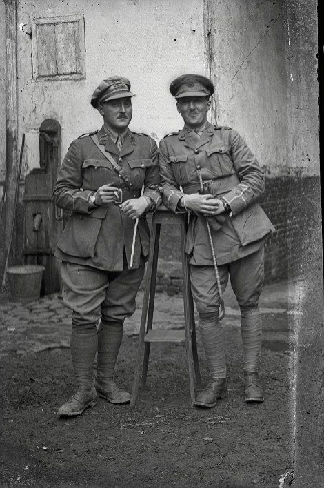 Photos show faces of First World War soldiers on the eve of battle