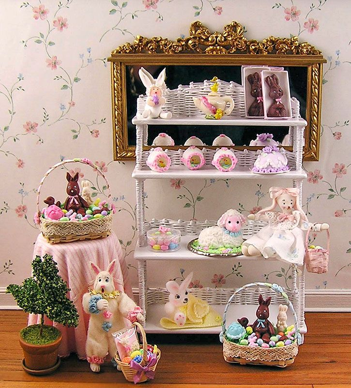 1000 images about Miniature Easter on Pinterest