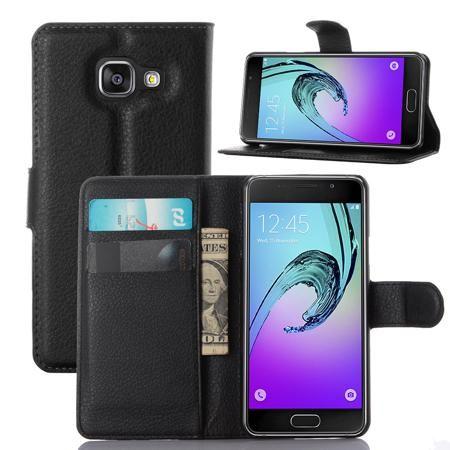 Кожаный чехол для телефона Samsung Galaxy A3  — 23978.52 руб. —  <p>1. Защитный кожаный чехол дляSamsung Galaxy A3.</p>  <p>2. Отделение для хранения карт и денег.</p>  <p>3. Дизайн чехла позволяет устанавливать телефон в вертикальное положение.</p>