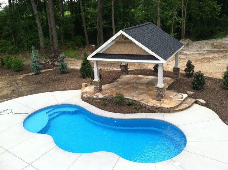 84 best fiberglass pools images on pinterest pool ideas for Fiberglass pool installation