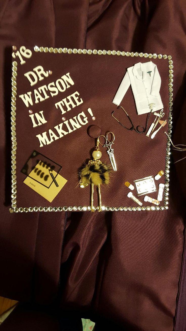 Decorative Future Doctor graduation cap. - #Decorative #doctor #future #graduation - #DecorationGraduation