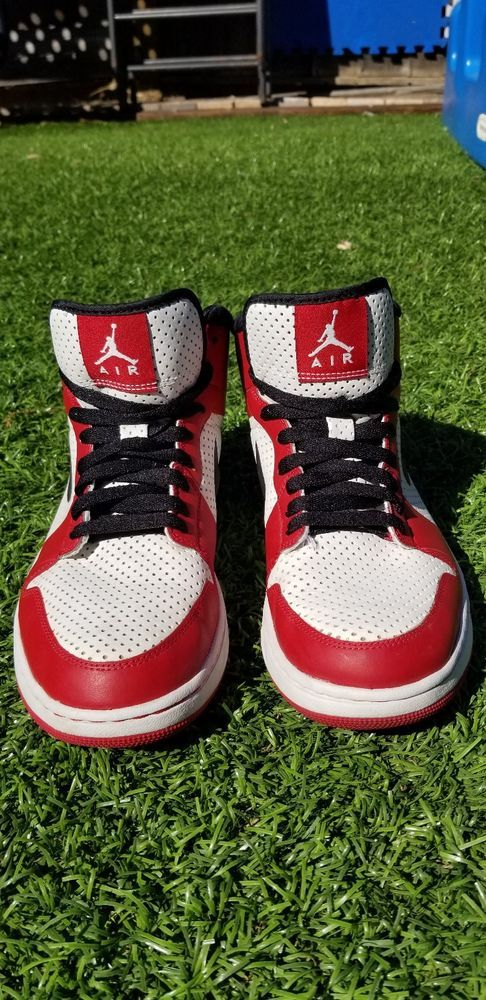 b093f140390 Air Jordan Alpha 1WHITE / BLACK VARSITY RED men's size 8 #fashion #clothing  #shoes #accessories #mensshoes #athleticshoes (ebay link)