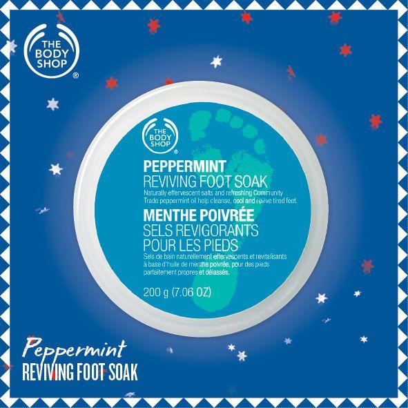 Peppermint Reviving Foot Soak