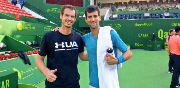 No ano passado, Novak Djokovic começou a temporada com mais de 7 mil pontos de vantagem sobre Andy Murray (16.585 a 8.945) e só passou a ser ameaçado na parte final do ano, até perder a ponta. Em 2017, o britânico começou com somente 630 de vantagem (12.410 a 11.780), o que promete uma briga semana a semana. No primeiro duelo direto na final do ATP 250 de Doha (QAT) no sábado, o sérvio venceu. Porém, como nção tinha pontos a defender, Murray abriu 780 de frente (12.560 a 11.780)