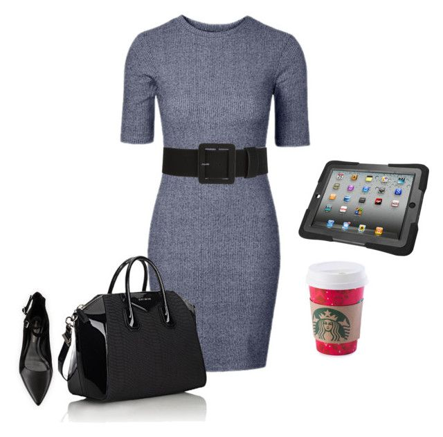 """""""business woman look"""" by monika1555 on Polyvore featuring Givenchy and Rebecca Minkoff"""
