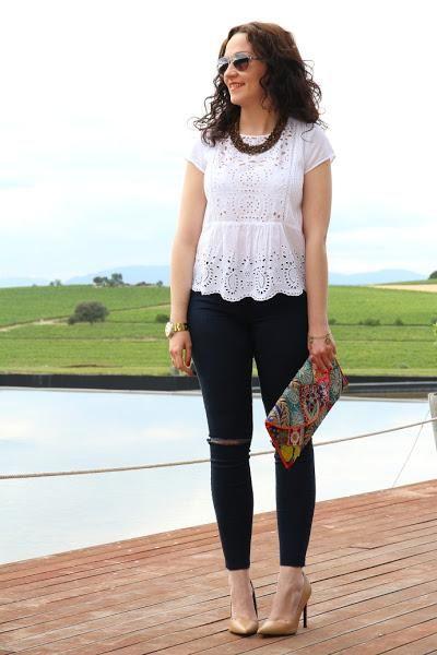 Mis nuevos pantalones ajustados, rasgados y tobilleros | Cuidar de tu belleza es facilisimo.com