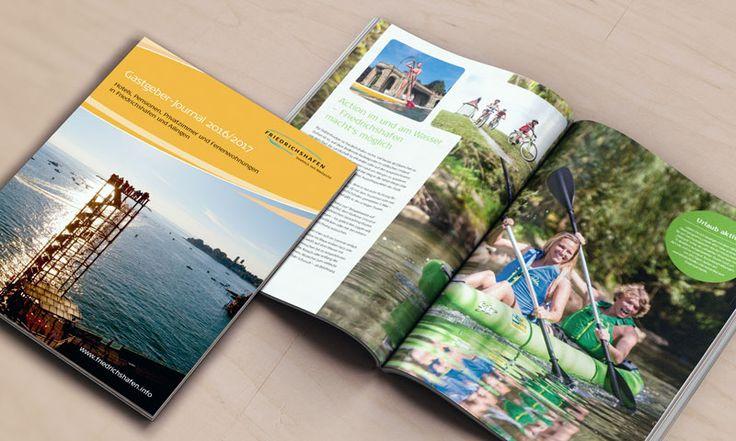 Guter An- und Ausblick: Gastgeber-Journal für Stadt Friedrichshafen  Lust auf #Friedrichshafen: Ein Gastgeber-Journal ist für eine Gemeinde, in der Tourismus eine Rolle spielt, ein wichtiges Werbemedium. Um so schöner, wenn das von fsb/welfenburg gelieferte Ergebnis Lust macht auf mehr.