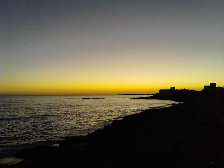 Sunset in Triscina di Selinunte