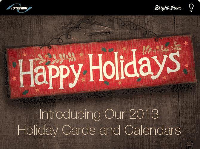 Formprint Christmas Card Program   http://www.formprint.com/CardsAndCalendars/