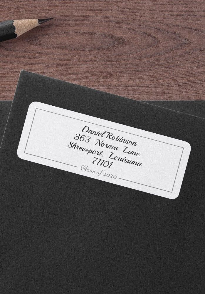 Graduation Envelope Stickers Address Label Template Return Address Labels Template Printable Label Templates