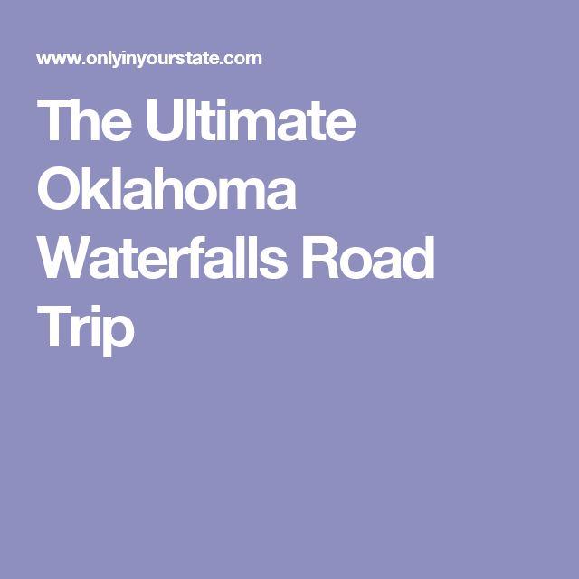 Haunted Places In Sulphur Oklahoma: 25+ Unique Oklahoma Waterfalls Ideas On Pinterest