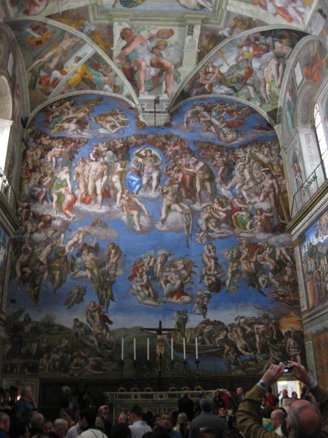 Sistine Chapel, Rome Italy