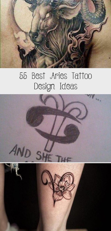 55 Best Aries Tattoo Design Ideas Hike n Dip