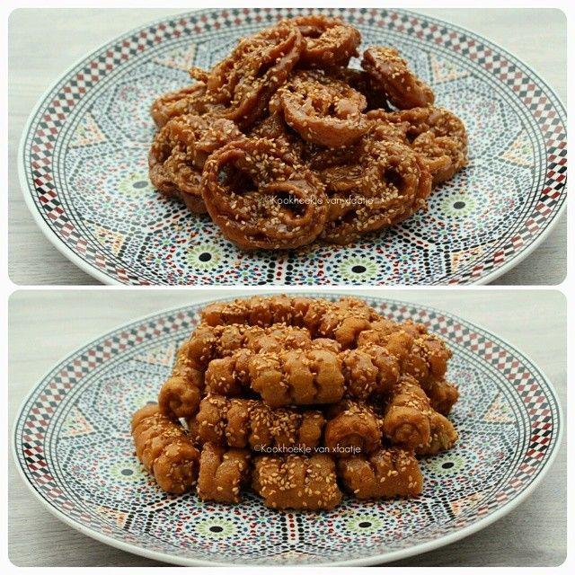 Chebbakia klaargemaakt voor de Ramadan inschAllah! ❤