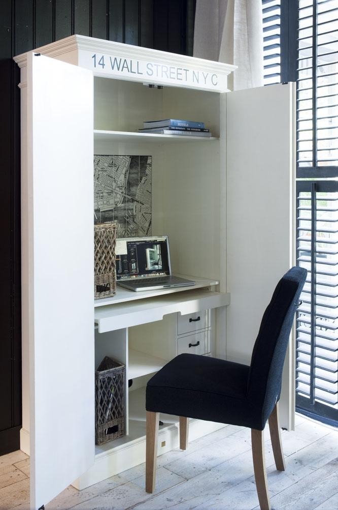 Best 25 hidden desk ideas on pinterest cabinet murphy for Hidden home office ideas