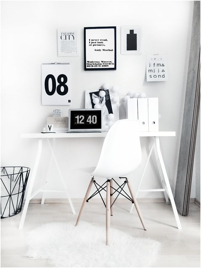 minimal workspace | home office | desk