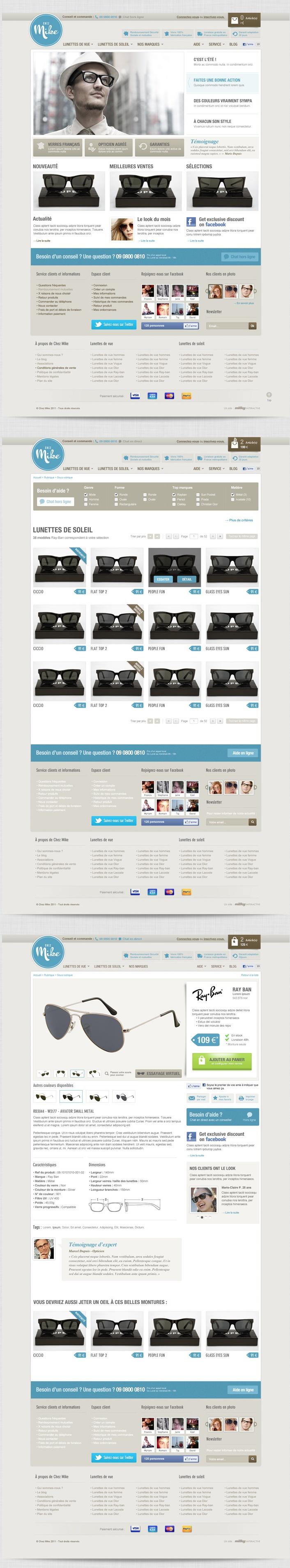 Chez Mike - #website #webdesign #ecommerce  Voir aussi de beaux webdesigns sur http://toopixel.ch