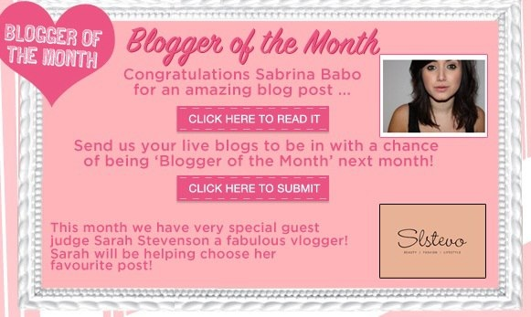Benefit Cosmetics Guest Judge for 2013 Blogger of the Month awards