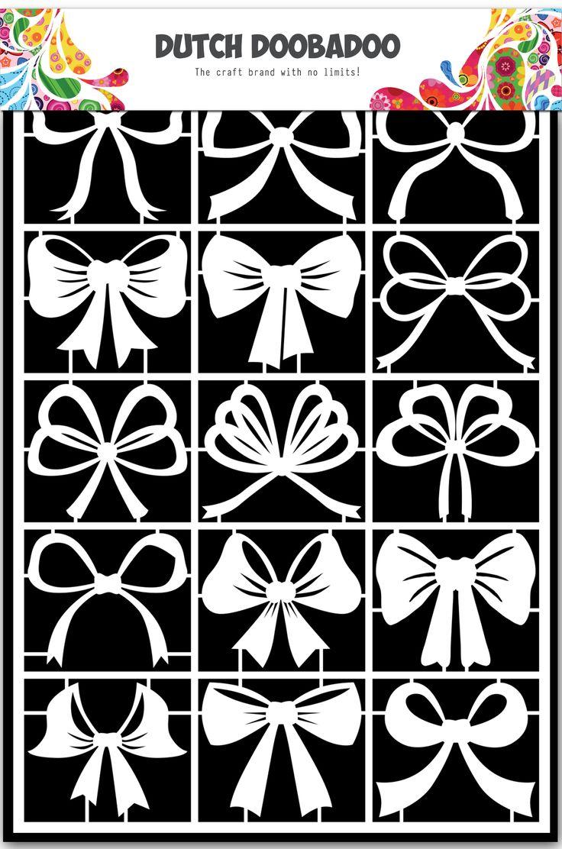 472.948.017 Dutch Doobadoo Paper Art Scatter Bows