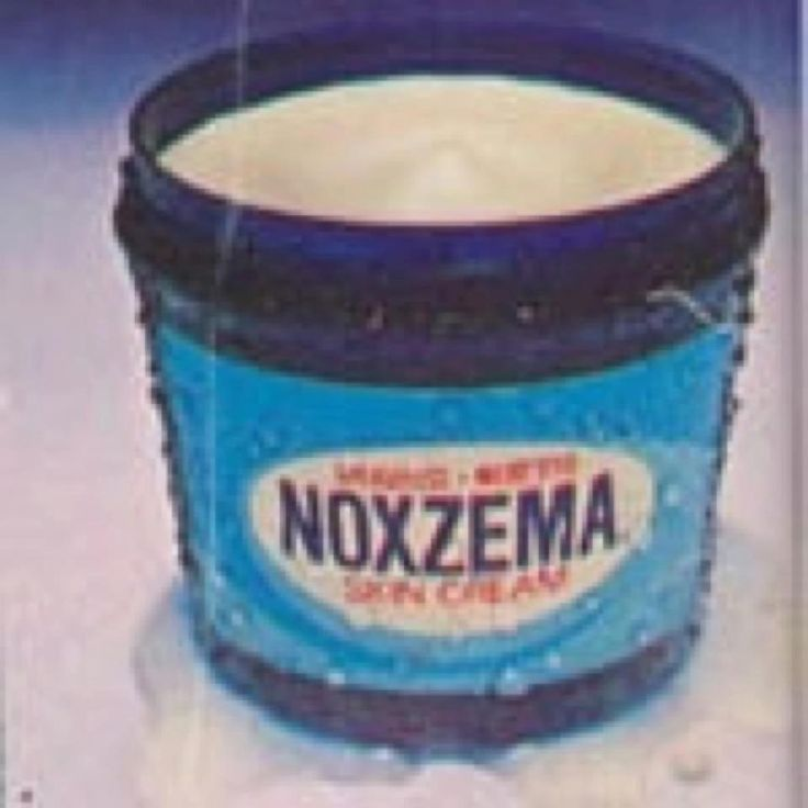 Growing up, we always had Noxzema in the house. I'd use it on my skin after a bad sunburn, too.