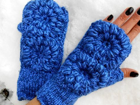 Hand Knitted Gloves, Women Hand Warmer, Women Knit Gloves, Women Fingerless, Fingerless Crochet Gloves, Blue Knitted Gloves, Knitted Gloves    Fingerless Gloves. 100% first class. The quality was blue thread. Soft, comfortable gloves.  It was elegantly built. On cold winter days, it keeps warm. Im a relative, my brothers a friend. The gift may be an alternative. Stylish Accessory.  Maintenance Instruction To get the best result. Just wash it by hand and dry it.  Submissions will be sent…