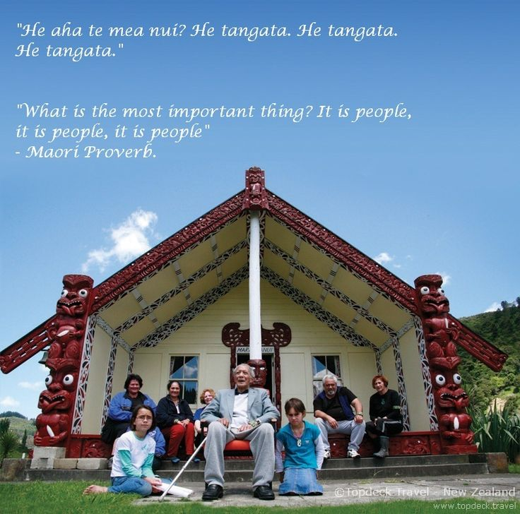 """What is the most important thing? It is people, it is people, it is people"" - Maori Proverb."