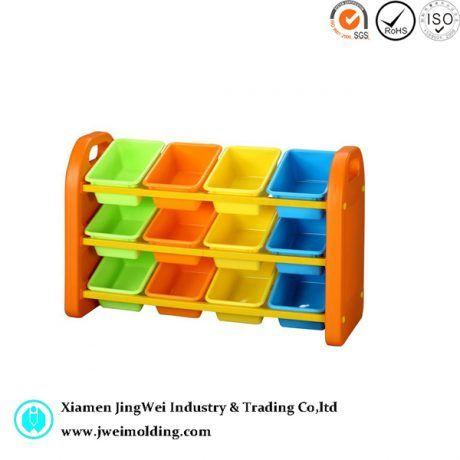 Kids plastic storage bins