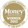 USaver was awarded Money Magazine Best Savings Account in 2012.