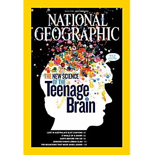 National Geographic Subscription--Once I get a more consistent address.