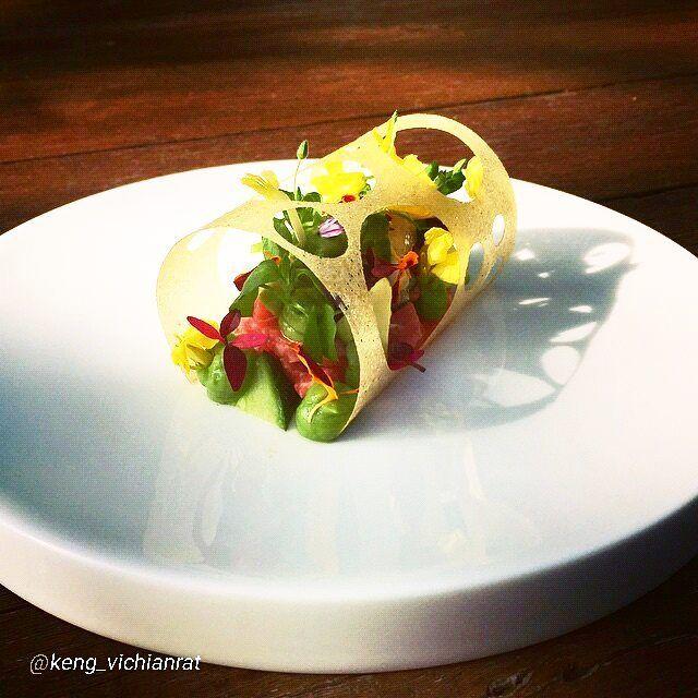 "foodartchefs: #TBT By @keng_vichianrat ""Mrijn beef tartar oyster avocado..."" #foodphotography #f52grams #food #foodporn #gourmet #instagramfood #chef #foodart #lovefood #artofplating #instafood #yummy #foodpic #photooftheday #instagourmet #dinner #foodvsco #dessert #delicious #taste #foodartchefs #eat #gastronomy #love #foodie #cook #cooking #foodgasm #culinaryart"