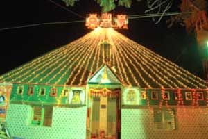 Sri Venkateshwara Pyramid  Meditation Center http://www.pyramidseverywhere.org/pyramids-directory/telangana/medak-district  #Pyramid #Pyramids