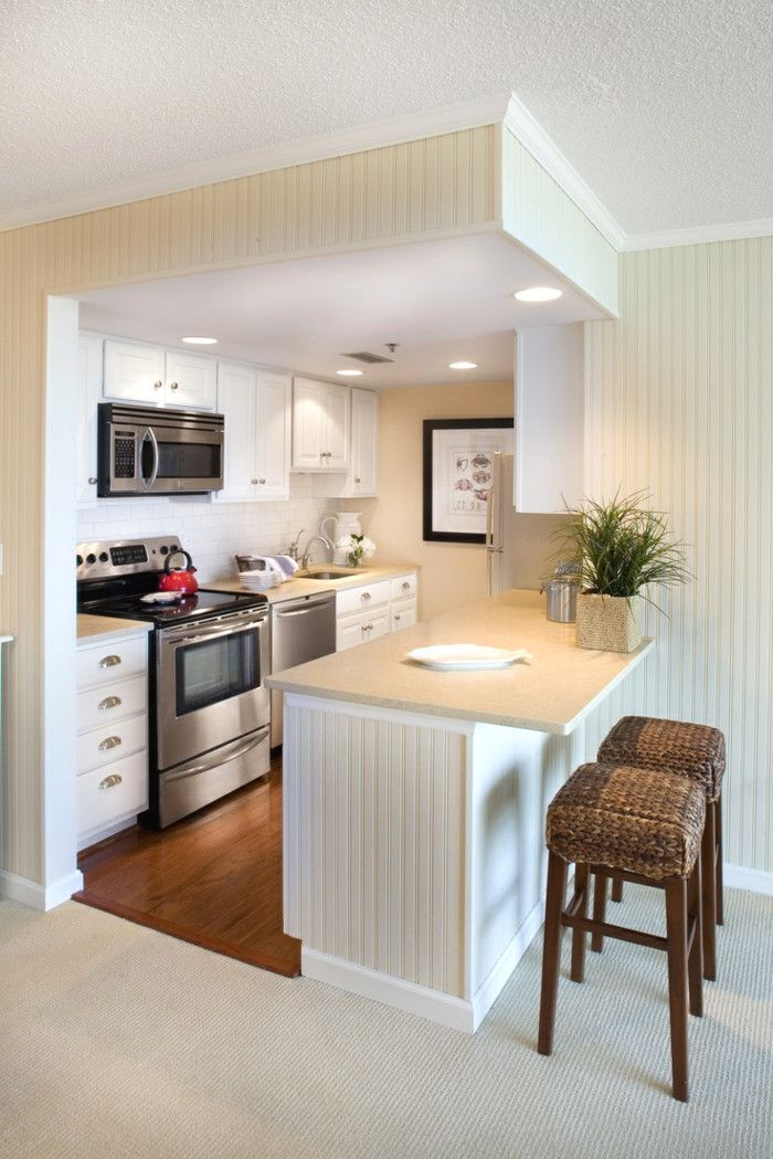 20 Fabulous Small Apartment Studio Decoration Ideas Small Apartment Kitchen Kitchen Remodel Small Kitchen Design Small