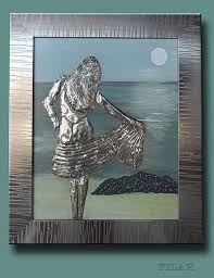 1000 images about repujado en esta o aluminio on for Manualidades con estano
