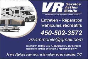 Réparation Mobile de Véhicules Récréatifs, Roulottes, Fifthwheel Saint-Hyacinthe Québec image 2