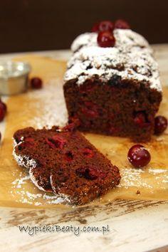 Czekoladowe ciasto z wiśniami [by Wypieki Beaty]