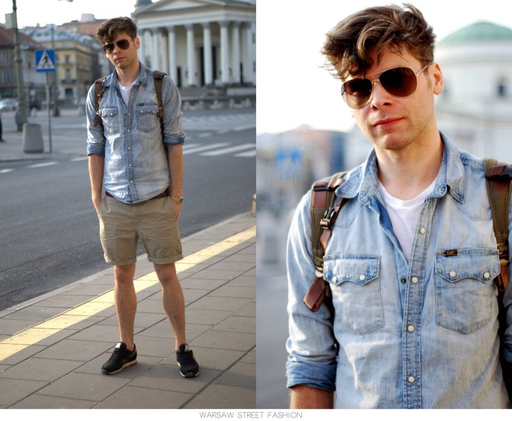 #warsawstreetfashion #warsaw #street #fashion #polish #stylish #guy #man #boy #handsome #reebok #lee #scarf #blue #black #sunglasses #ulica #modauliczna #centrum #warszawa #city #style #style #outfit #look