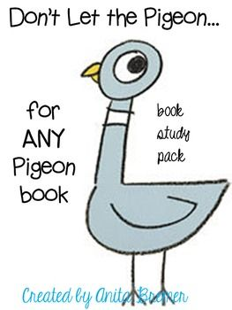 The activities in this pack are designed to correspond with the reading of ANY Pigeon book by Mo Willems.