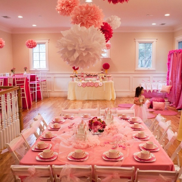 Little Princess Pink Tea Party PARTY Pinterest