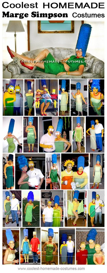 Coolest Homemade Marge Simpsons Costumes - Halloween Costume Contest