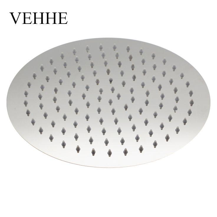 Vehhe супер большой 10 дюймов Нержавеющаясталь ультра тонкий потолок тропический душ Ванная комната осадков Насадки для душа сопла душ vehhe0054