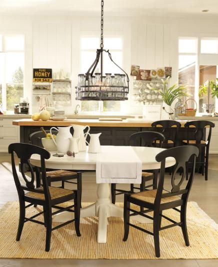 I Like This Look Do I Dare Paint My Table White And Chairs Black Can Not De