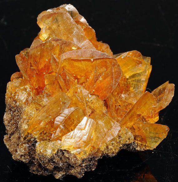 RESERVED for myblueoblivion Fluorescent Golden Amber Duckbill