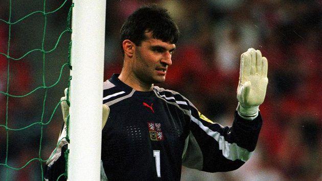 Bývalý brankář Pavel Srníček na archivním snímku z ME 2000.