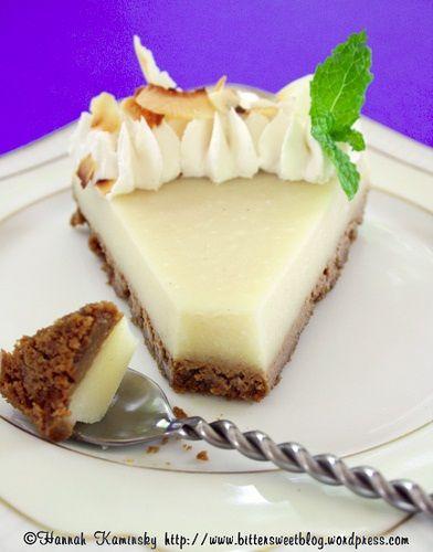 Kefir Vegan Cheesecake (with probiotics!).  you can use knox gelatin in lieu of agar if you're not vegan.