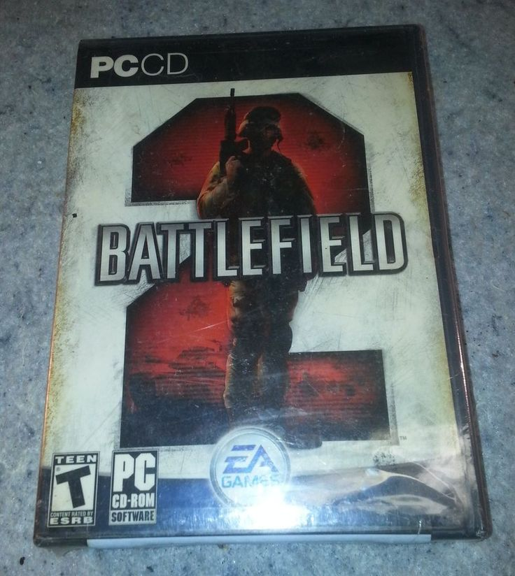 Battlefield 2, PC CD-ROM New sealed .....