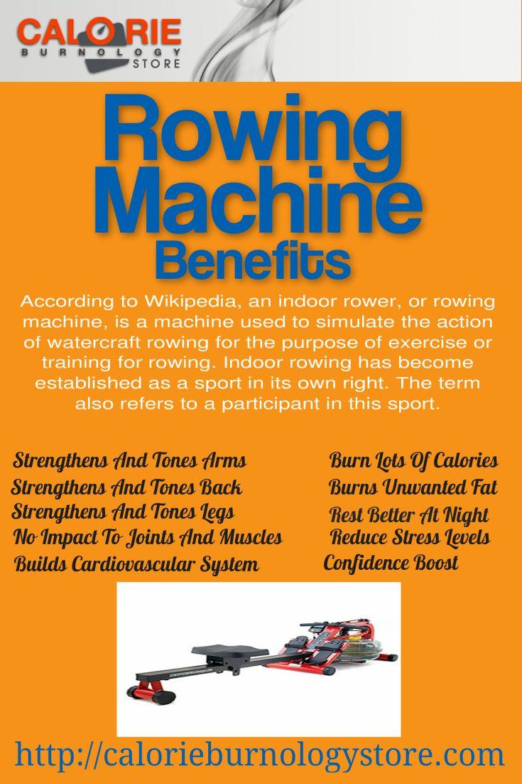 benefits rowing machine