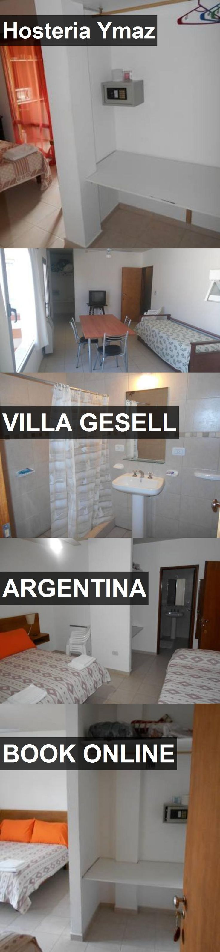 Hotel Hosteria Ymaz in Villa Gesell, Argentina. For more information, photos, reviews and best prices please follow the link. #Argentina #VillaGesell #travel #vacation #hotel