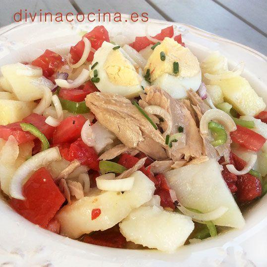 Patatas aliñadas » Divina Cocina