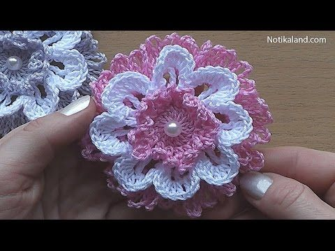 CROCHET Flower VERY EASY Tutorial